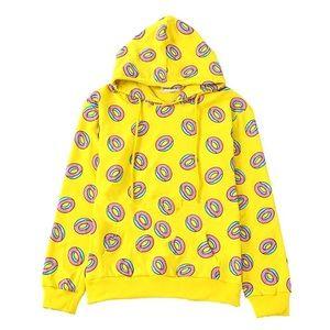 Yellow Donut Hoodie